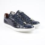 Lucio Alligator Leather Sport Shoe // Navy (US: 7.5)