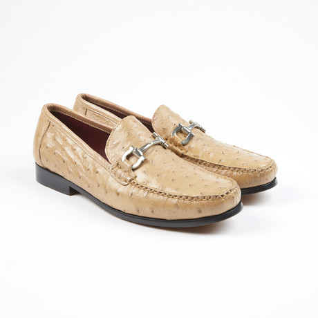 Struzzo Ostrich Leather Loafer // Orix (US: 7)