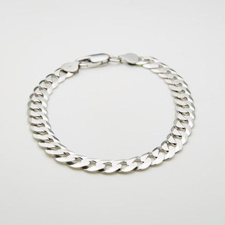 """Thick Cuban Bracelet // 8.5mm // 8.5""""L"""