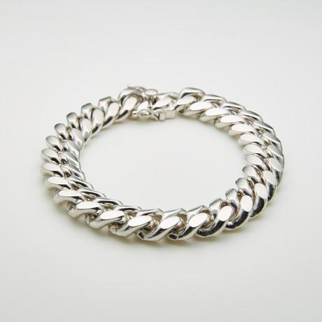 """Thick Miami Cuban Bracelet + Box Lock // 13mm // 8.5""""L"""