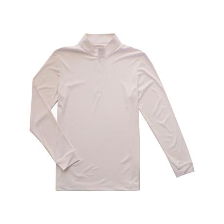 Garrison Quarter Zip // White (S)