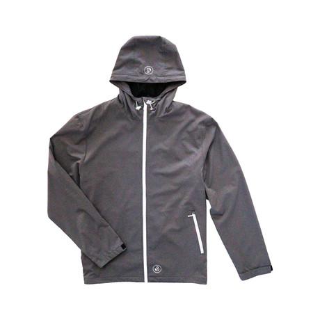Lakes Rain Jacket // Charcoal (S)