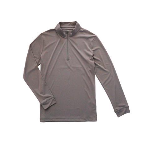 Garrison Quarter Zip // Grey (S)