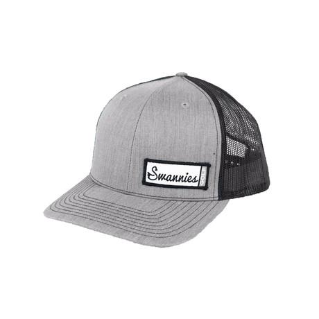 Baker Meshback Hat // Grey + Black