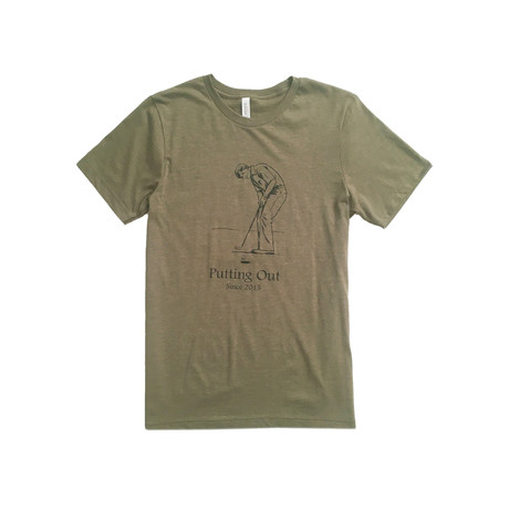 Putting Out Tee // Heather Olive (S)