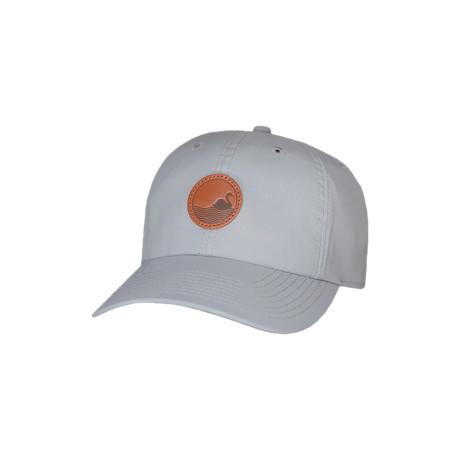 Barnes Velcro-Back Cap // Grey