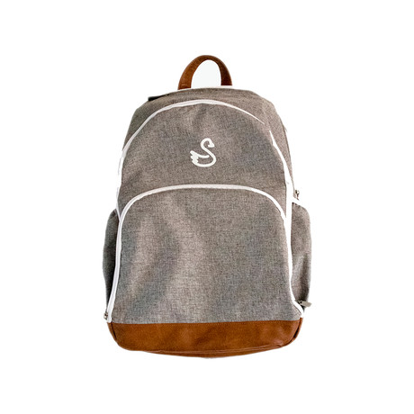 Guntrum Backpack // Grey