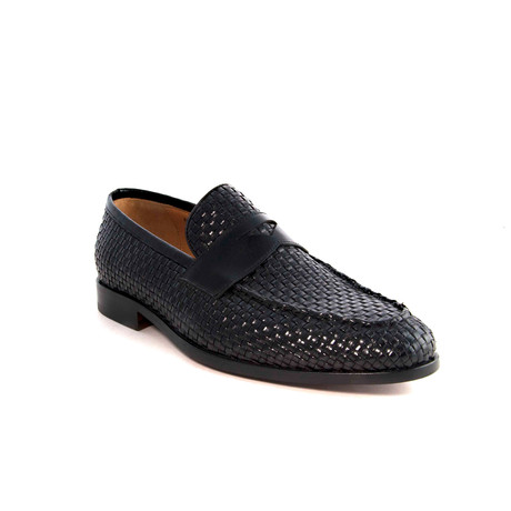 Albert Woven Loafer // Black (US: 7)