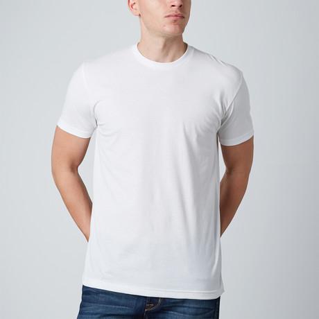 Basic Crewneck // White (S)