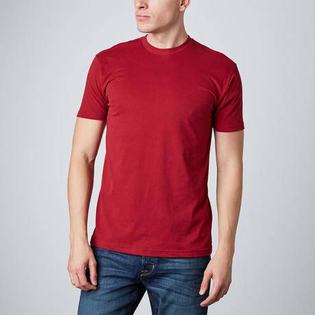 Basic Crewneck // Cardinal Red (S)