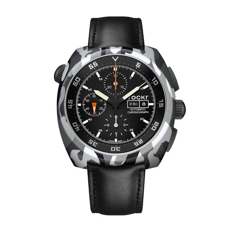 TOCKR Air Defender Camo Chronograph Automatic // AD1CAM1.01.LS