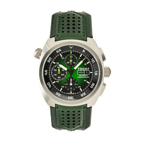 TOCKR Air Defender Hulk Chronograph Automatic // AD1SS.04.HX