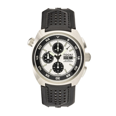 TOCKR Air Defender Panda Chronograph Automatic // AD1SS.05.HX