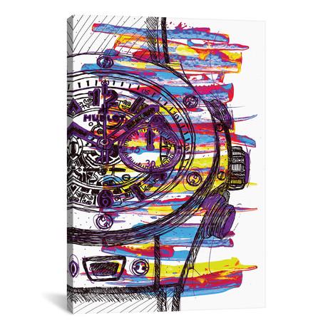"Hublot Love Art // Frank Banda (18""W x 26""H x 0.75""D)"