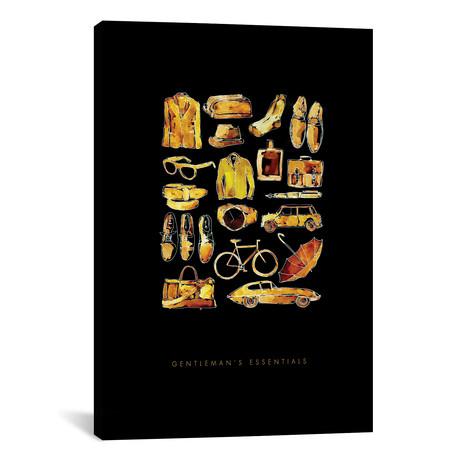 """Gentlemans Essentials by Mercedes Lopez Charro (18""""W x 26""""H x 0.75""""D)"""