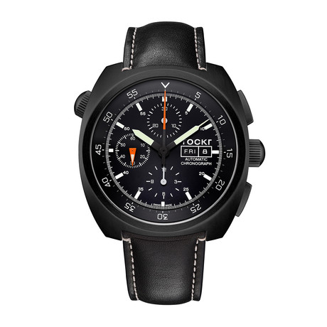 TOCKR Air Defender Chronograph Automatic // AD1BK.01.LS