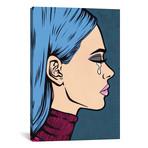 Blue Turtleneck Sad Girl // Allyson Gutchell