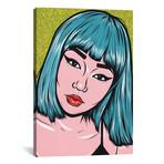 Blue Bangs Comic Girl // Allyson Gutchell