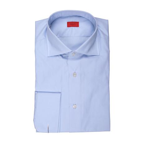 Alba Solid French Cuff Dress Shirt // Blue (US: 15R)