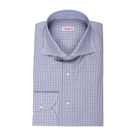 Alexandra Checked Dress Shirt // Multicolor (US: 15R)