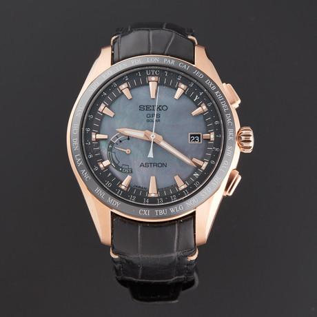 Seiko Astron GPS Solar World Time Novak Djokovic Quartz // SSE105 // Pre-Owned
