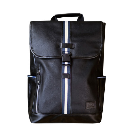 Portsman Flaptop Backpack (Black)
