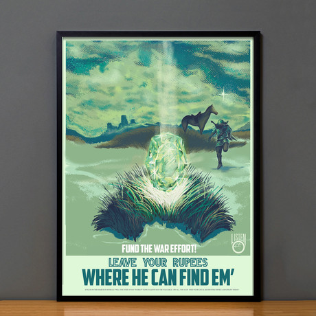 Zelda Propaganda // Rupees