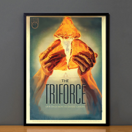 Zelda Propaganda // The Triforce