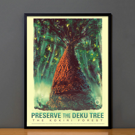 Zelda Propaganda // The Deku Tree