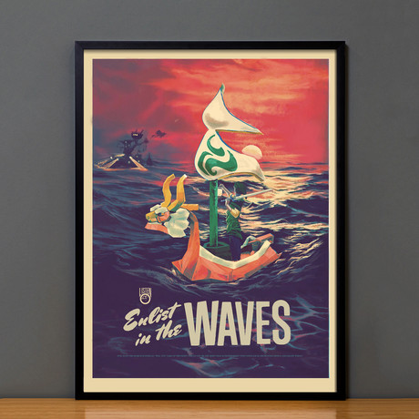 Zelda Propaganda // The Waves