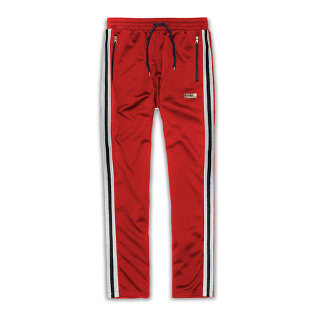 Melrose Track Pants // Red (S)