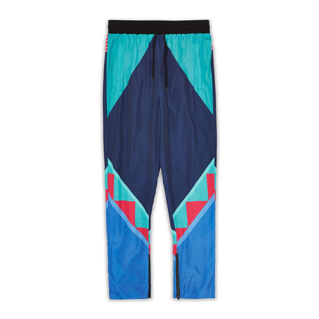 Neo Abstract Track Pants - Blue // Multi (S)