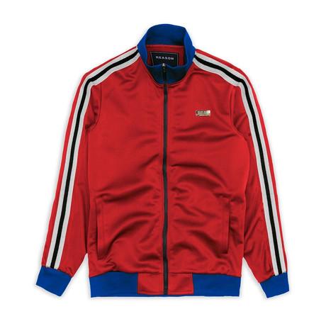 Melrose Track Jacket // Red (S)