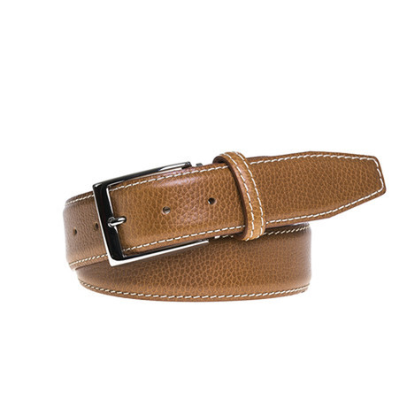"Stress Stitch Belt // Tan (Size 30"")"