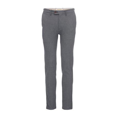 Thomas Striped Dress Pant // Gray (28WX31L)