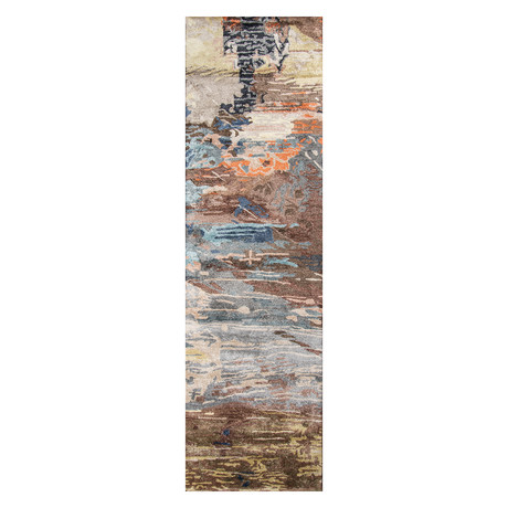 """Lucie Abstract // Runner // 2'3"""" x 8'"""
