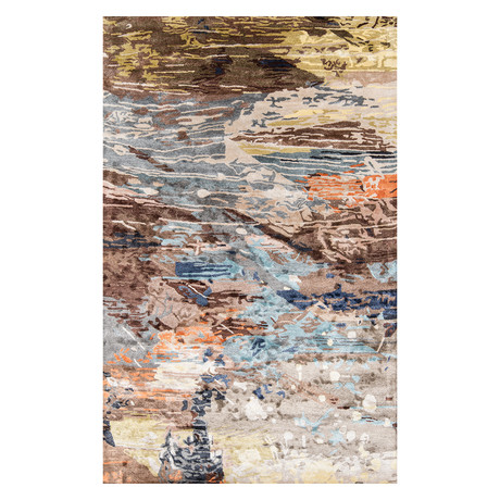 """Lucie Rug // Abstract (7'6"""" x 9'6"""" Area Rug)"""