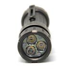 Titanium EDC Flashlight // Stonewashed (Lite)
