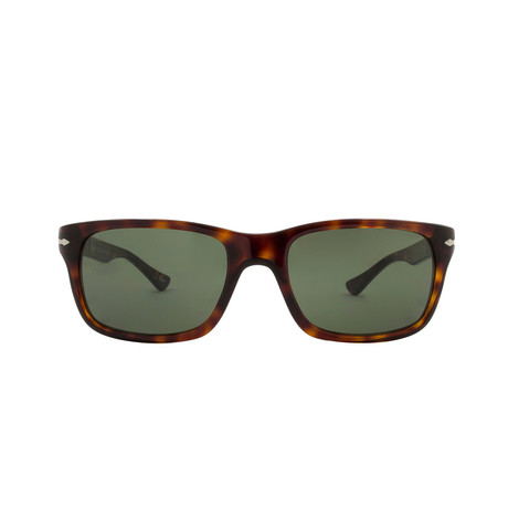 Squared Sunglasses // Dark Havana + Gray