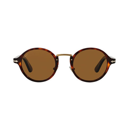 Classic Polarized Typewritter Sunglasses // Havana + Brown Polarized
