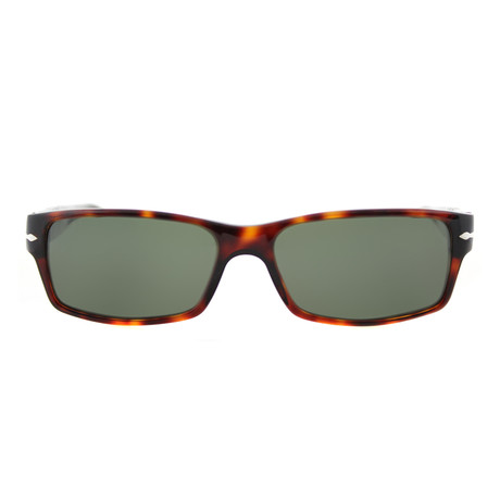 Classic Rectangle Sunglasses Havana // Havana + Grey