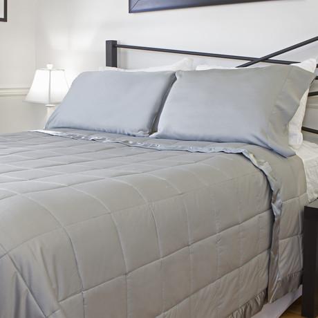 Temperature Regulating Blanket // Linen (Standard/Queen)