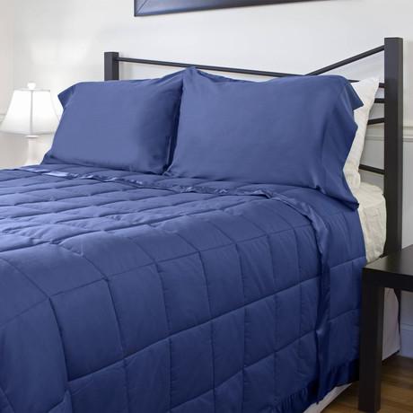 Temperature Regulating Blanket // Midnight Blue (Standard/Queen)