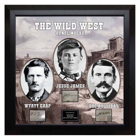 Signed + Framed Signature Collage // The Wild West