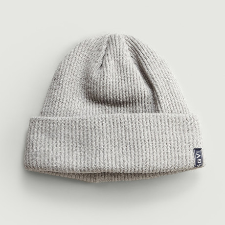 Wool Beanie // Light Grey