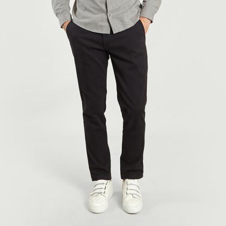 Chino Pant I // Black (26WX30L)