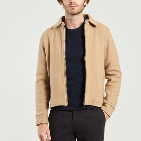 Smart Wool Jacket // Camel (XS)