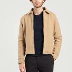 Smart Wool Jacket // Camel (XS)