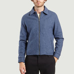 Smart Wool Jacket // Blue (XL)