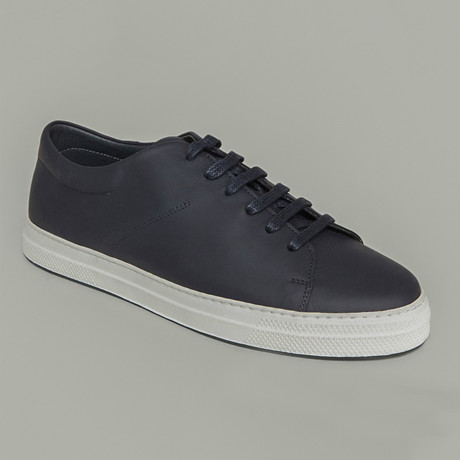 Leather Sneaker // Navy (US: 7)